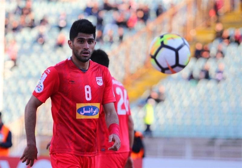اسماعیلی فر: دوست دارم باز هم برای تراکتورسازی گل بزنم، بازی در خانه سپاهان اصفهان نیست