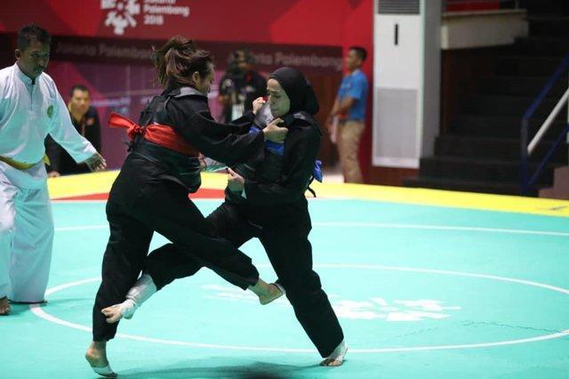 تنها مدال پنچاک سیلات ایران در بازی های آسیایی، کربلایی بدون برد برنز گرفت!