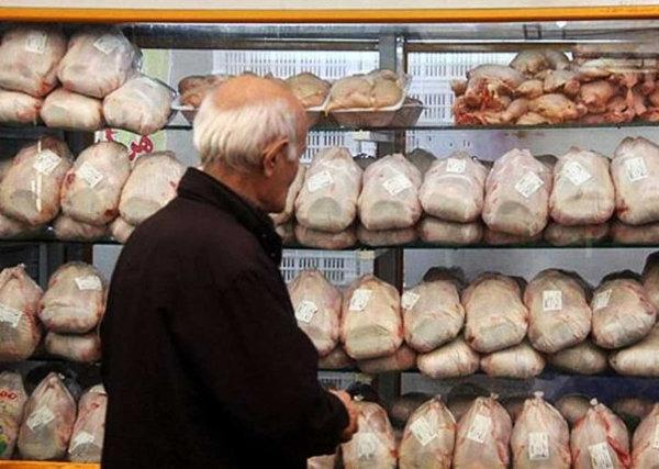 کاهش هزارتومانی قیمت مرغ در بازار خرده فروشی