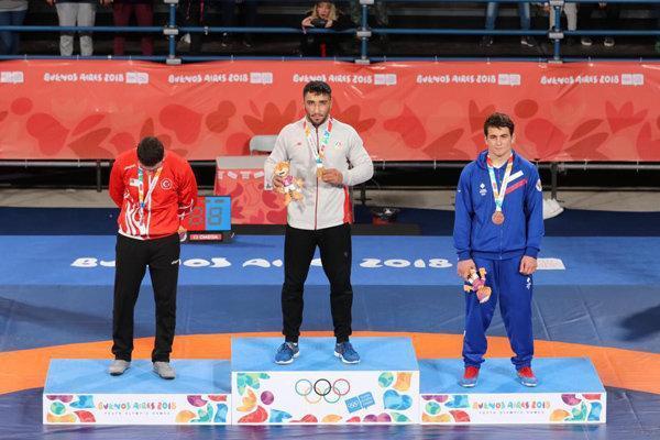 مجموع مدال های کاروان ایران به 6 رسید، کسب دو طلا در کشتی فرنگی