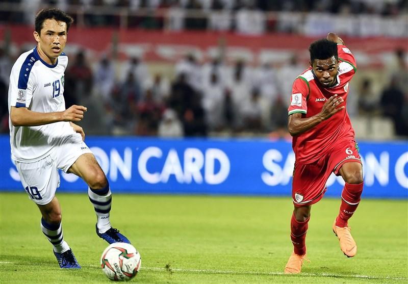 برتری کامل عمان مقابل ازبکستان در آمار با وجود شکست
