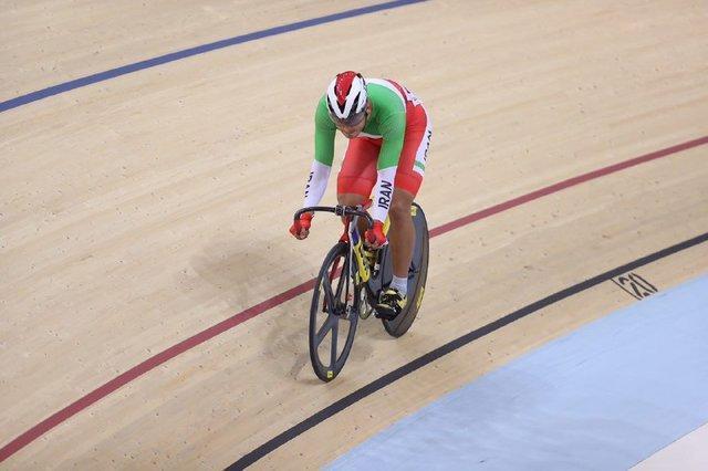 دوچرخه سواری قهرمانی آسیا، دانشور در یک کیلومتر تایم تریل هم ناکام ماند