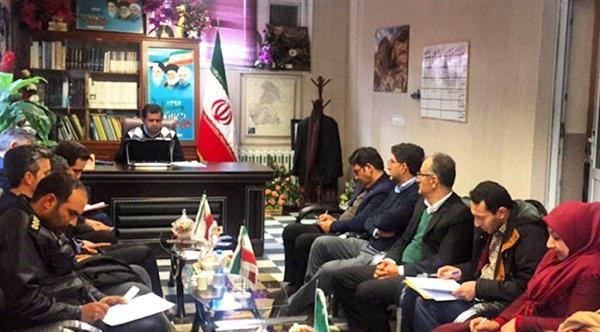 جلسه ستاد اجرایی خدمات سفر شهرستان دیواندره برگزار گردید