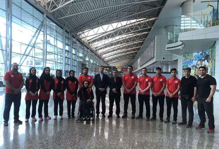 اردوی تیم ملی ریکرو ایران در چین شروع شد