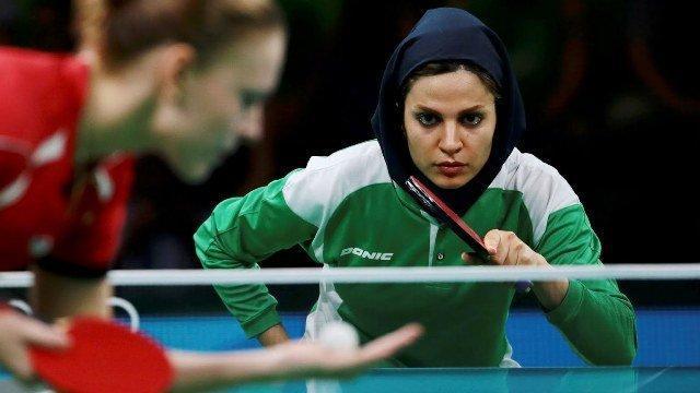 پیروزی بانوان پینگ پنگ بازان ایران در مسابقات جهانی