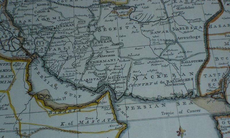 5 نقشه دریایی ایرانی در سطح بین الملل منتشر شد