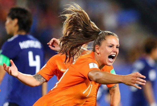 انتها مرحله یک هشتم نهایی جام جهانی فوتبال زنان ، هشت تیم یک چهارم نهایی تعیین شدند