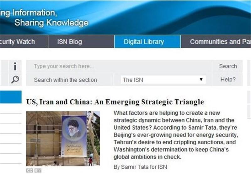 احتیاج آمریکا به ایران برای مقابله با چین