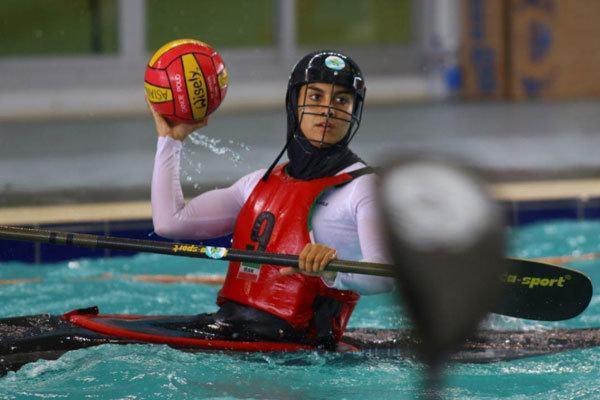 تیم کاناپولوی زنان ایران در کاپ آسیایی چین سوم شد