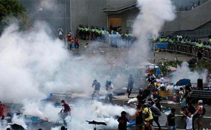 تصمیم تظاهرکنندگان هنگ کنگی به ترک محل تجمع