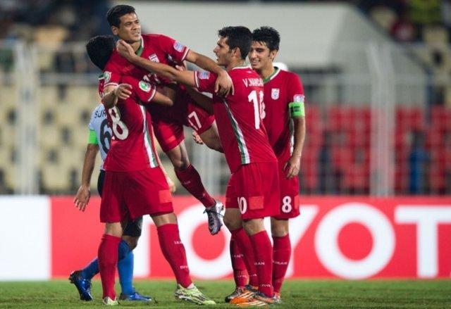 فوتبالیست های نوجوان ایران با گلباران ویتنام، جهانی شدند