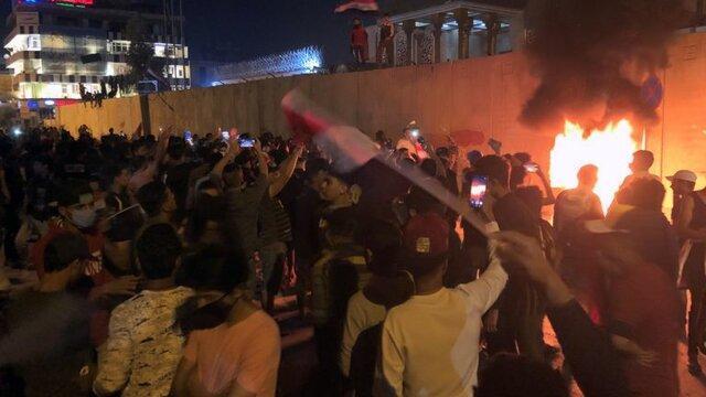 معترضان، منزل 3 نماینده مجلس عراق را آتش زدند