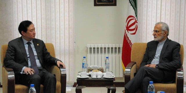از هر گامی برای حل اختلافات در منطقه استقبال می کنیم، نگاه ایران به روابط با چین راهبردی است