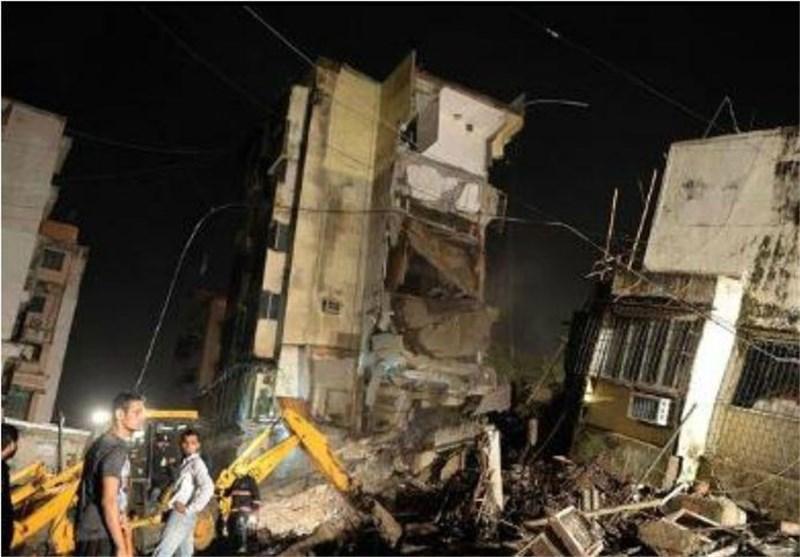 2 کشته در فروپاشی یک مجتمع مسکونی در بمبئی، 20 نفر مفقود هستند