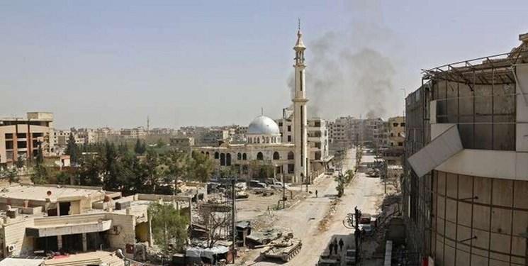 انفجار در مقابل دفتر حزب بعث در حومه دمشق