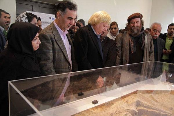 بانوی هفت هزار ساله تهران رونمایی شد