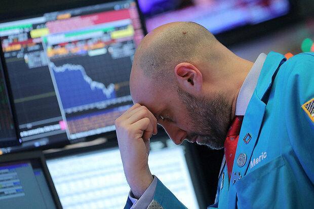 سقوط 900 واحدی شاخص داوجونز، سهام اروپا 4.5 درصد افت کرد