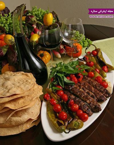 طرز تهیه کباب کوبیده گوشت به روش سنتی ایرانی