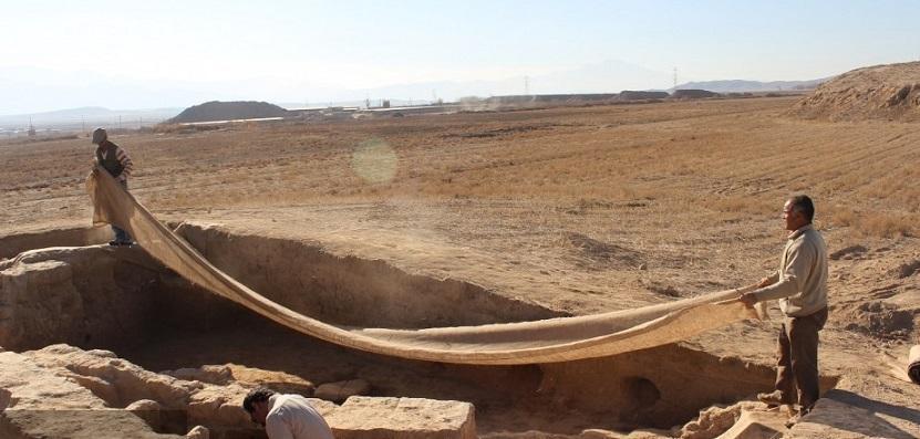 کاوش ها در محوطه تاریخی ریوی خراسان شمالی تا پنج سال آینده ادامه دارد