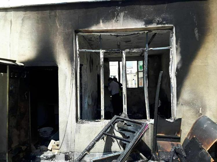 کارمند معترض، اداره دارایی بندر امام خمینی را به آتش کشید