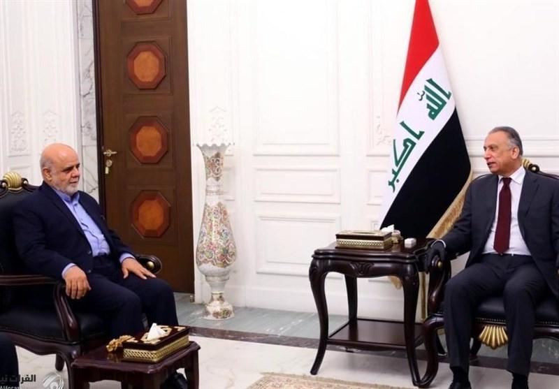 الکاظمی در دیدار مسجدی: عراق علاقه مند به داشتن بهترین روابط با ایران است