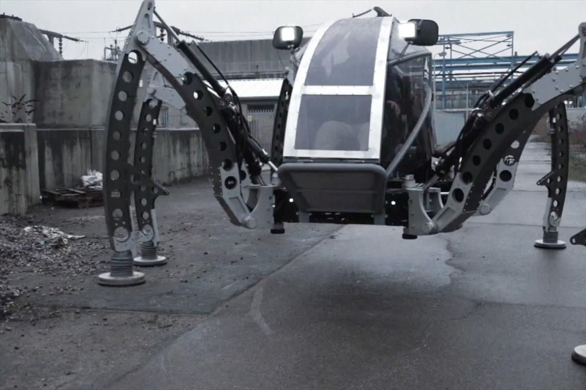 عظیم ترین روبات عنکوبتی دنیا