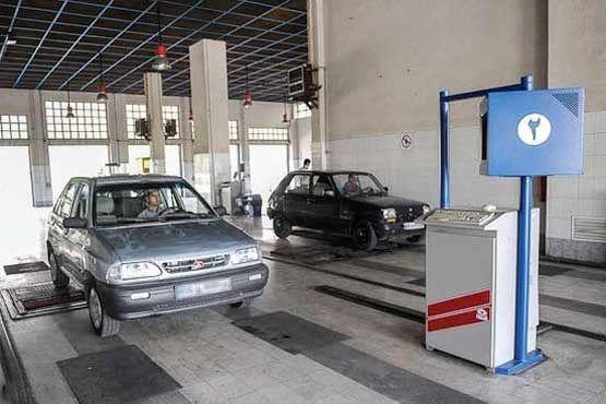 معرفی علت مردودی 41 درصد خودروها در معاینه فنی