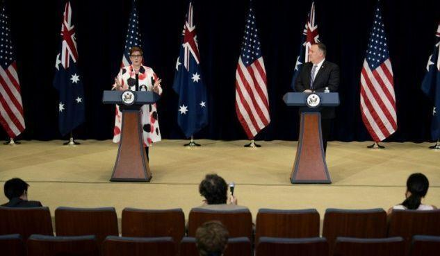 خبرنگاران اتحاد نظامی استرالیا و آمریکا برای مقابله با چین