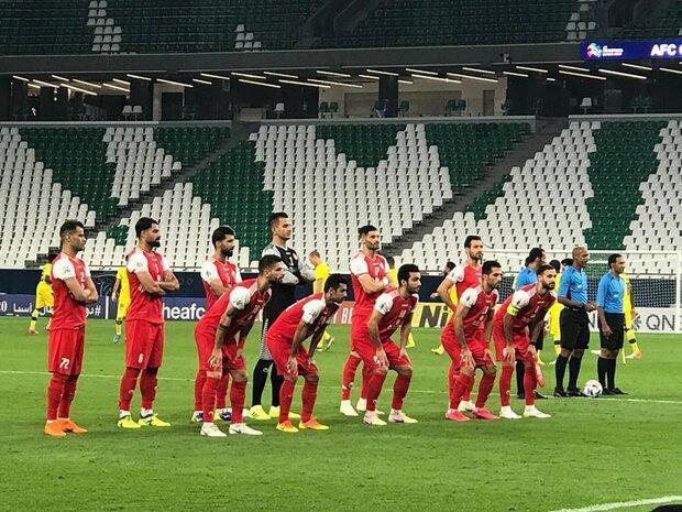 ترکیب تیم فوتبال پرسپولیس برای ملاقات با السد قطر اعلام شد