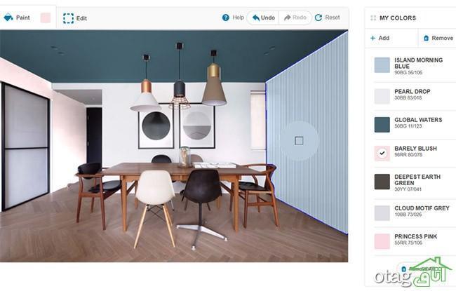 معرفی 5 اپلیکیشن دکوراسیون داخلی رایگان برای انتخاب رنگ خانه