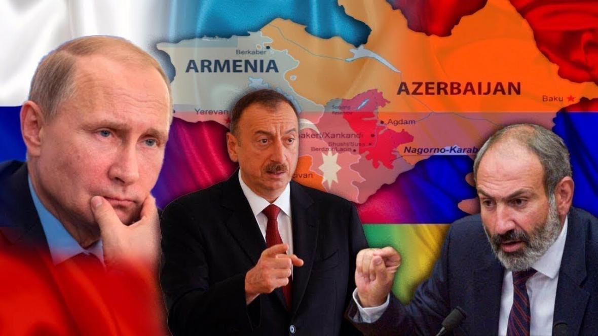 خبرنگاران پوتین در خصوص حل مناقشه قره باغ با علی اف و پاشینیان گفت وگو کرد
