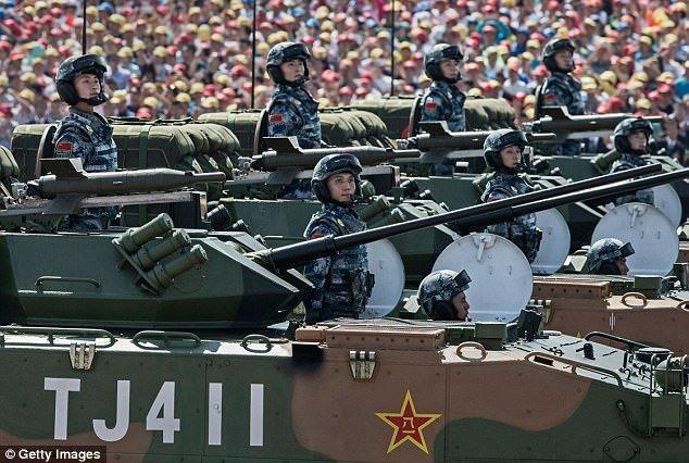 برنامه چین برای تبدیل ارتش به یک نیروی نظامی مدرن پیشتاز تا سال 2027