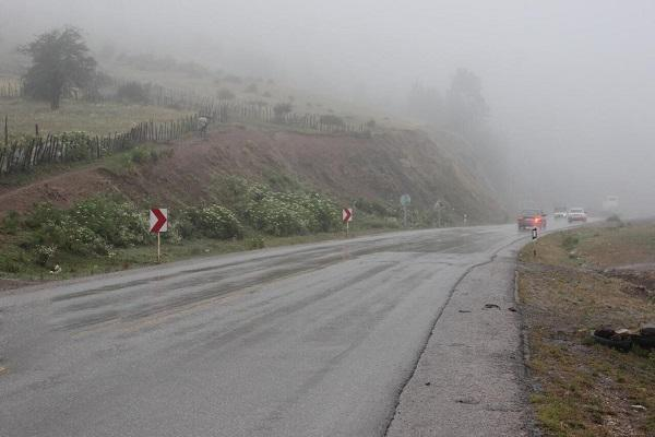 بارندگی در جاده های 5 استان کشور ادامه دارد