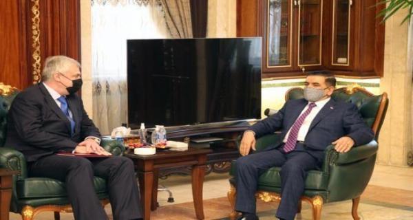 خبرنگاران عراق و روسیه روابط امنیتی را بررسی کردند