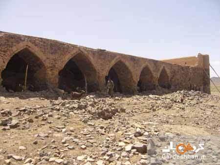 کاروانسرای قلعه خرگوشی؛ یادگار دوران صفویه در بیابان های یزد، عکس