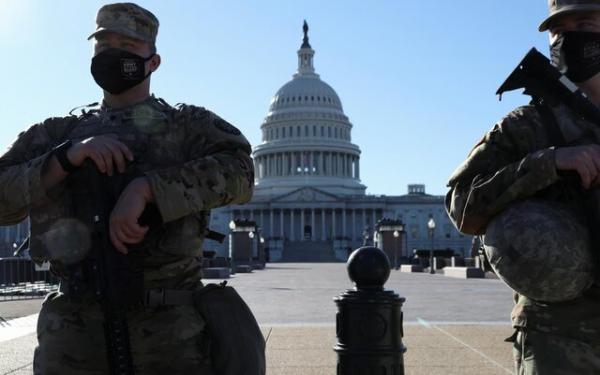 پنتاگون موضوع حفظ گارد ملی در اطراف کنگره آمریکا را بررسی می کند