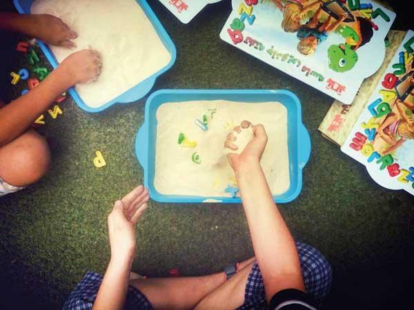 تقویت خلاقیت در بچه ها با ماسه بازی