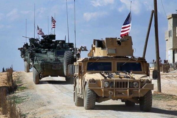 عبور کاروان لجستیک ارتش آمریکا از عراق به سوریه