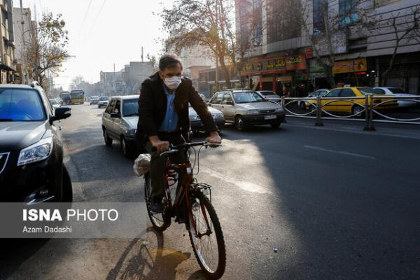 افزایش غلظت آلاینده ها در بعضی مناطق تهران