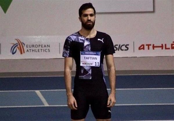 نایب قهرمانی حسن تفتیان در رقابت های بین المللی دوومیدانی فرانسه