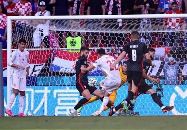 یورو 2020، تساوی یک نیمه ای اسپانیا مقابل کرواسی با وجود اشتباه مهلک دروازه بانش