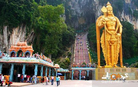 معبد جالب و دیدنی باتو کیو در مالزی