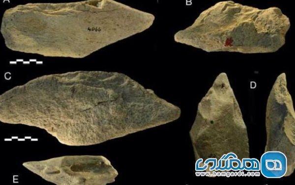 ابزارهای چند صد هزار ساله در ایتالیا کشف شدند